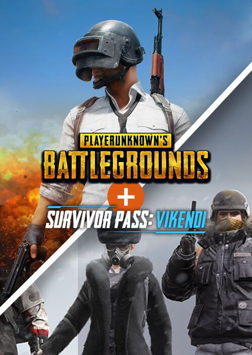 PlayerUnknowns Battlegrounds (PUBG) PC + Survivor Pass Vikendi DLC