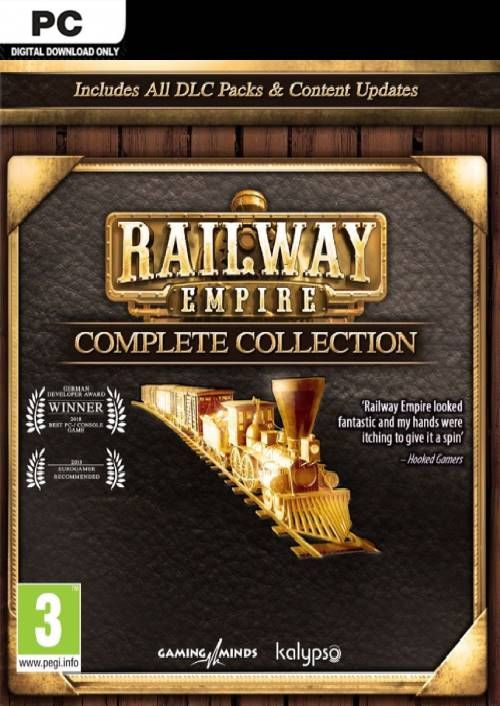 Railway Empire - Complete Collection PC (EU)