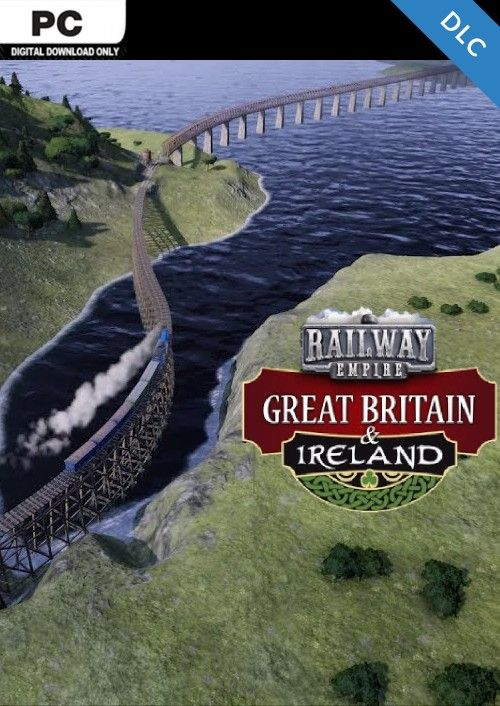 Railway Empire PC: Great Britain and Ireland DLC
