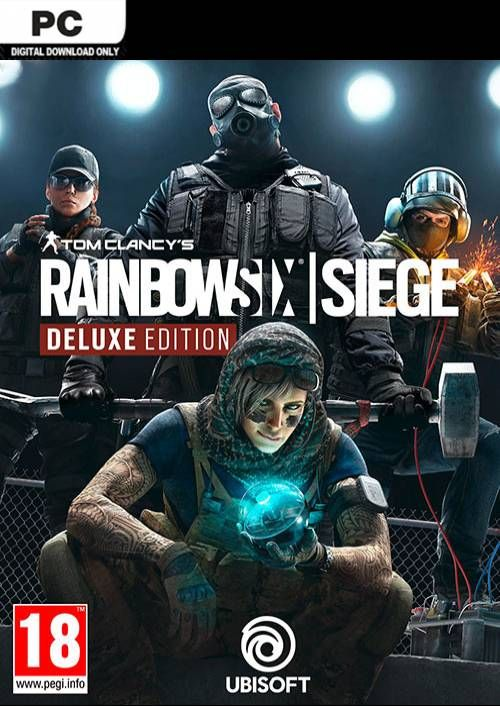 Tom Clancy's Rainbow Six Siege Deluxe Edition PC (EU)
