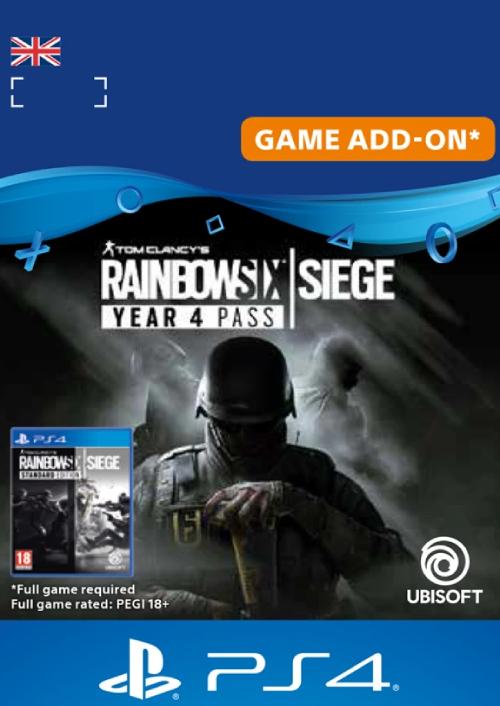 Tom Clancy's Rainbow Six Siege - Year 4 Pass PS4 (UK)