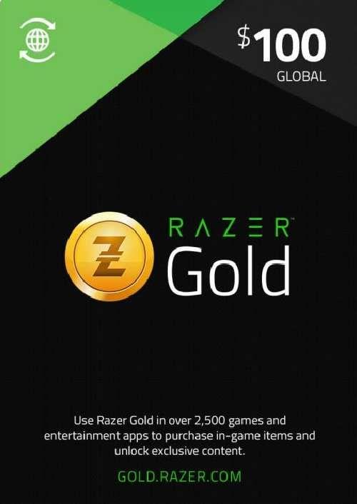 Razer Gold 100 USD (Global)
