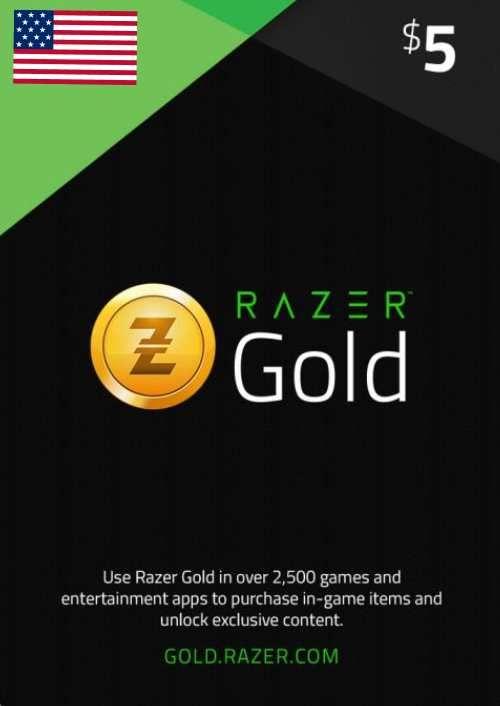 Razer Gold 5 USD (US)