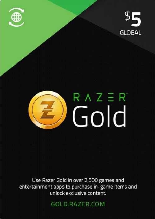 Razer Gold 5 USD (Global)