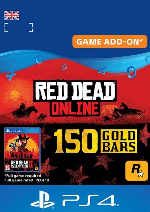 Red Dead Online 150 Gold Bars PS4 (UK)