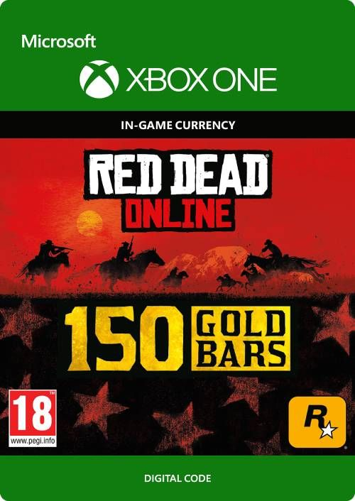 Red Dead Online: 150 Gold Bars Xbox One