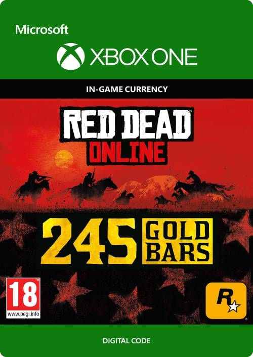 Red Dead Online: 245 Gold Bars Xbox One