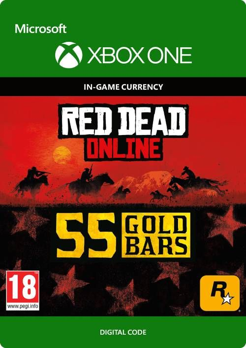 Red Dead Online: 55 Gold Bars Xbox One