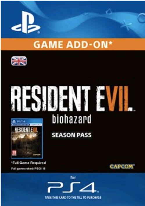 Resident Evil 7 - Biohazard Season Pass PS4