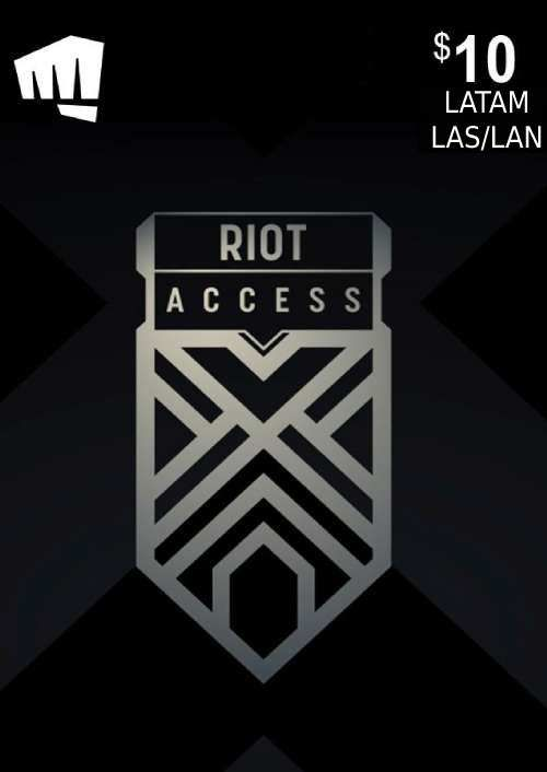 RIOT ACCESS 10 USD (LATAM)