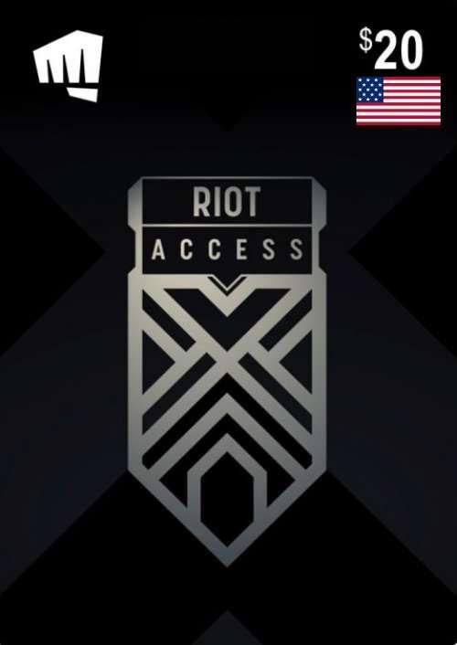 RIOT ACCESS 20 USD (USA)