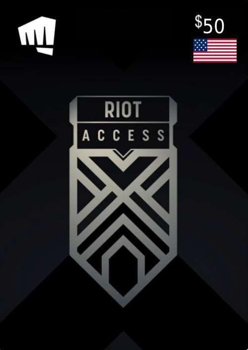 RIOT ACCESS 50 USD (USA)