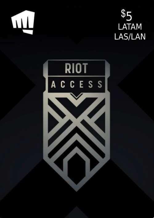 RIOT ACCESS 5 USD (LATAM)