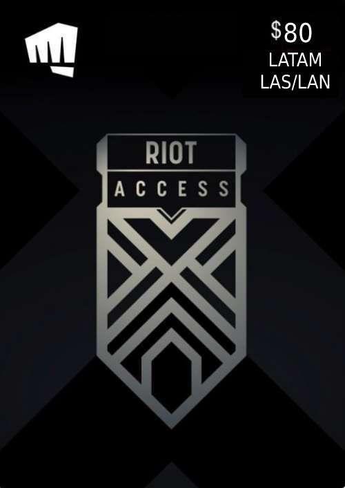 RIOT ACCESS 80 USD (LATAM)