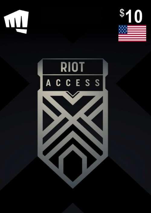 RIOT ACCESS 10 USD (USA)