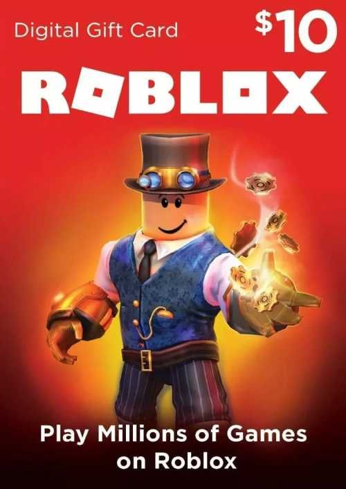 Roblox 10 USD Gift Card