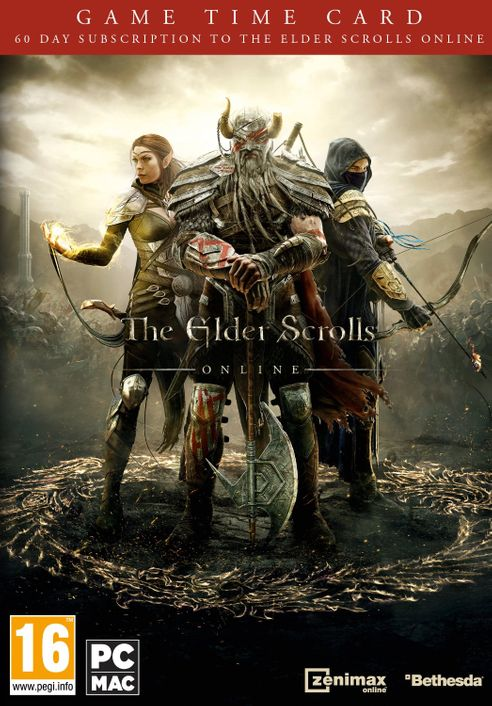 The Elder Scrolls Online - 60 Day Game Time Card PC