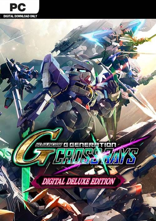 SD Gundam G Generation Cross Rays Deluxe Edition PC + Pre-order Bonus