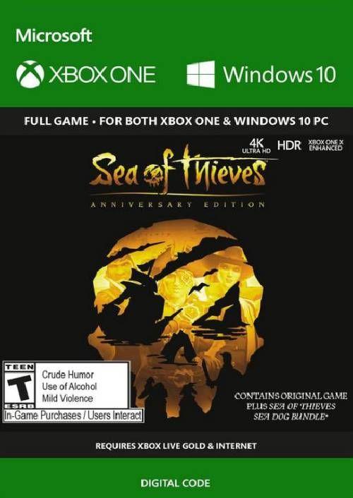 Sea of Thieves Anniversary Edition Xbox One / PC (US)