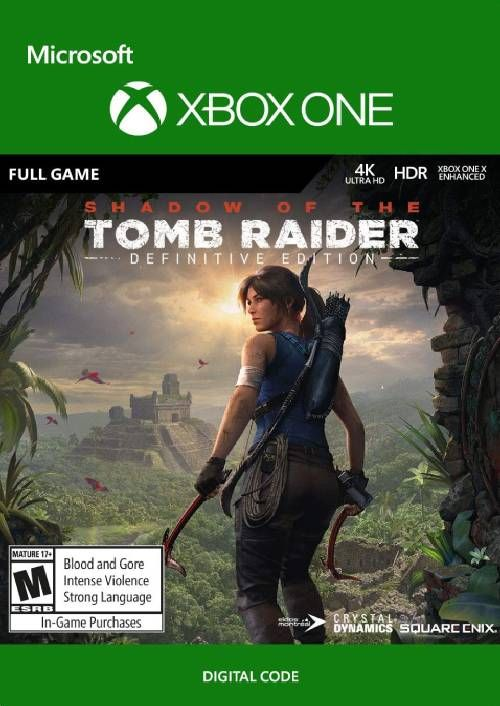 Shadow Of The Tomb Raider Definitive Edition Xbox One Cdkeys