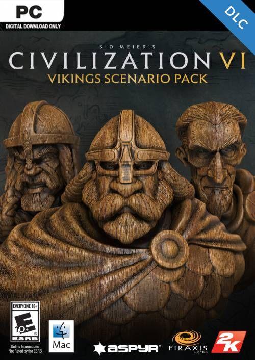 Vikings civ 6 characters