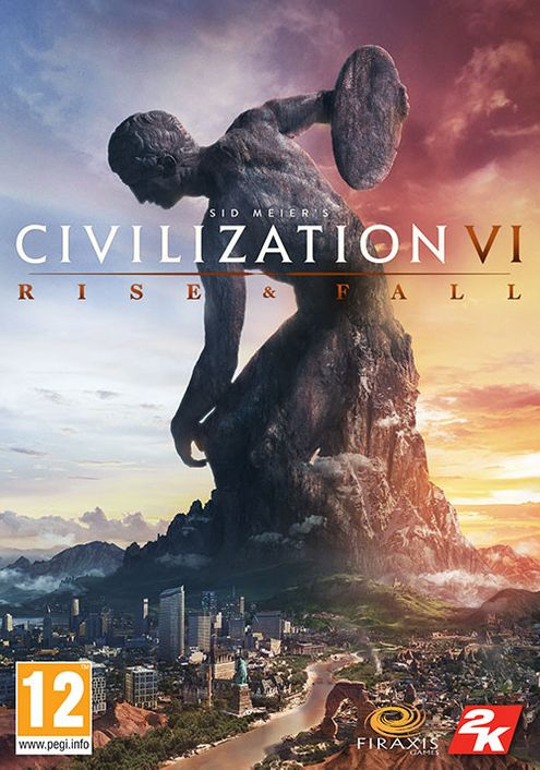 Sid Meier's Civilization VI 6 PC - Rise and Fall DLC (EU)