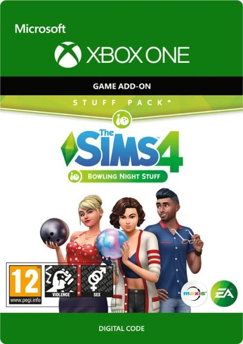 The sims 4: Bowling Night Stuff Xbox One