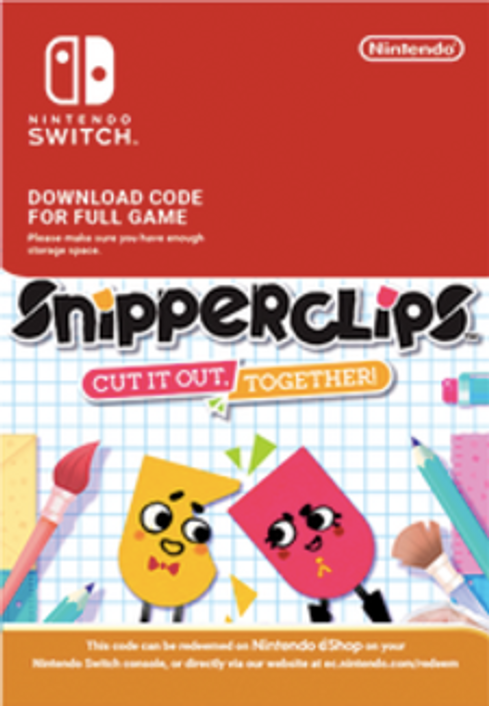 SnipperClips - Cut It Out Together Switch