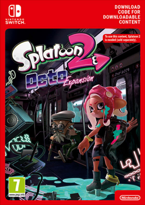 Splatoon 2 Octo Expansion Switch
