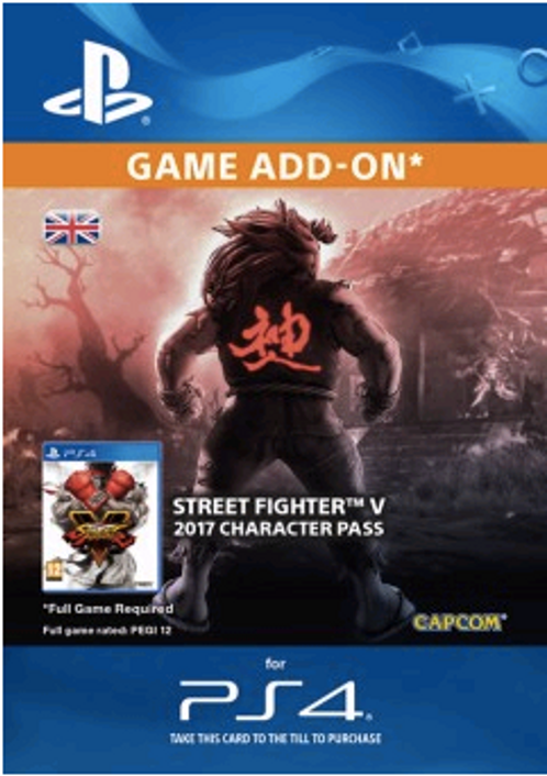 Street Fighter V 5 - Character Pass PS4