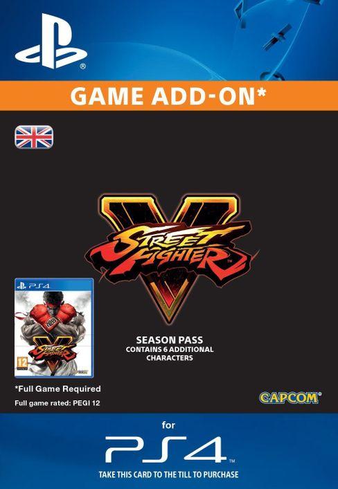 Street Fighter V 5 2016 - Season Pass PS4