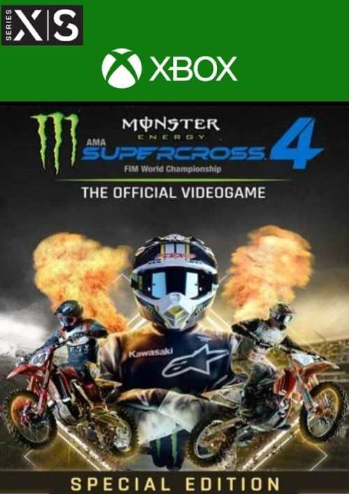 Monster Energy Supercross 4 Special Edition Xbox Series X|S (UK)