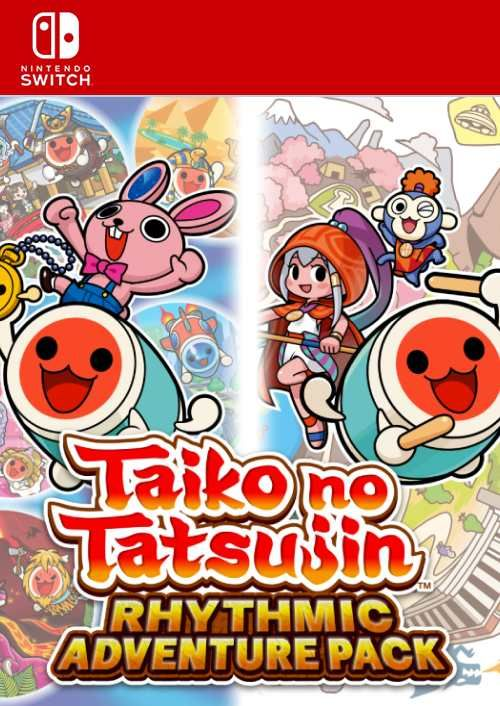 Taiko no Tatsujin: Rhythmic Adventure Pack Switch (EU)