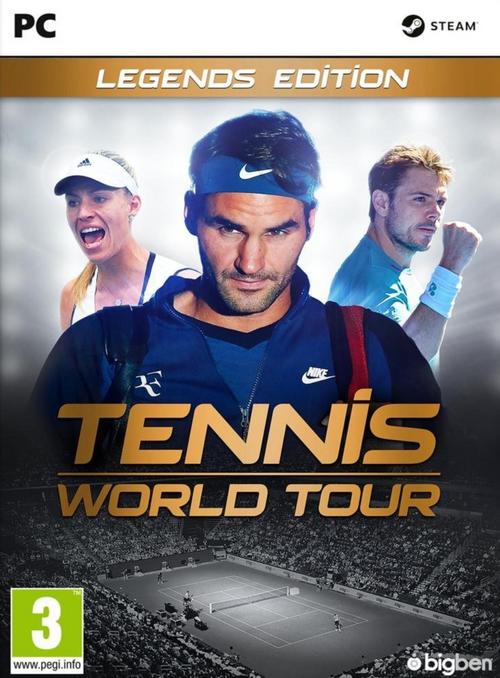 Tennis World Tour Legends Edition PC