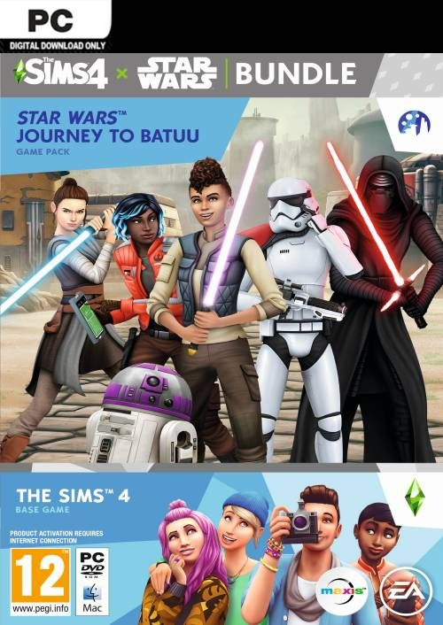The Sims 4 + Star Wars: Journey to Batuu Bundle PC