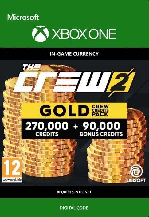The Crew 2 Gold Crew Credits Pack Xbox One