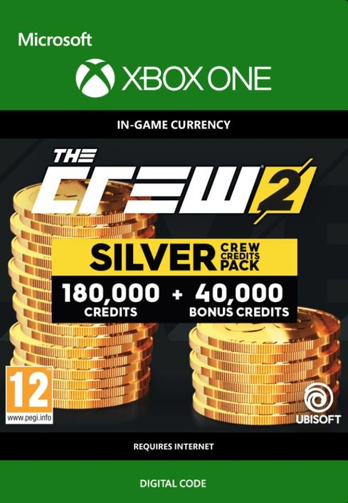 The Crew 2 Silver Crew Credits Pack Xbox One