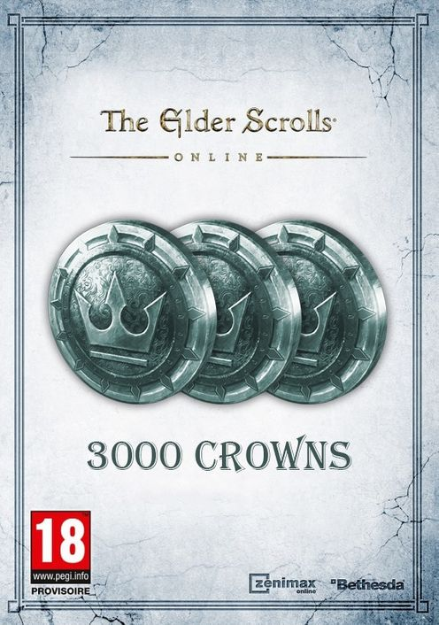 The Elder Scrolls Online Tamriel Unlimited 3000 Crown Pack PC