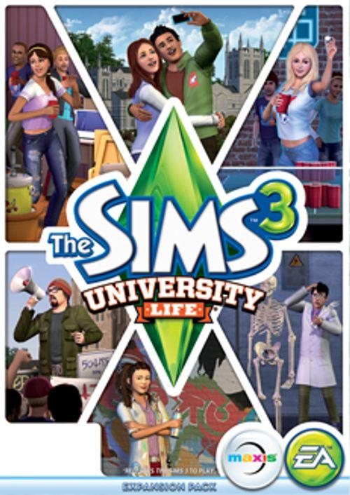 The Sims 3: University Life PC