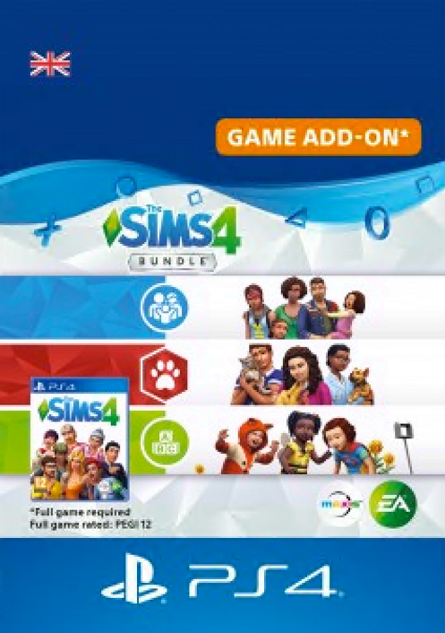 The Sims 4 Bundle - Cats & Dogs, Parenthood, Toddler Stuff PS4
