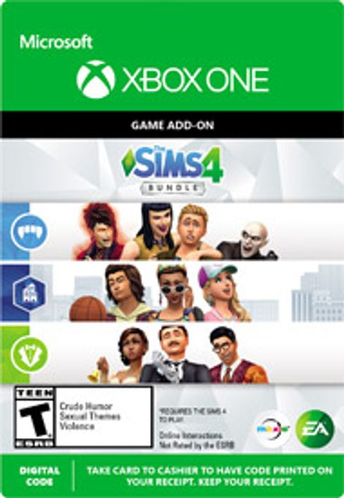 The Sims 4 - Extra Content Starter Bundle Xbox One