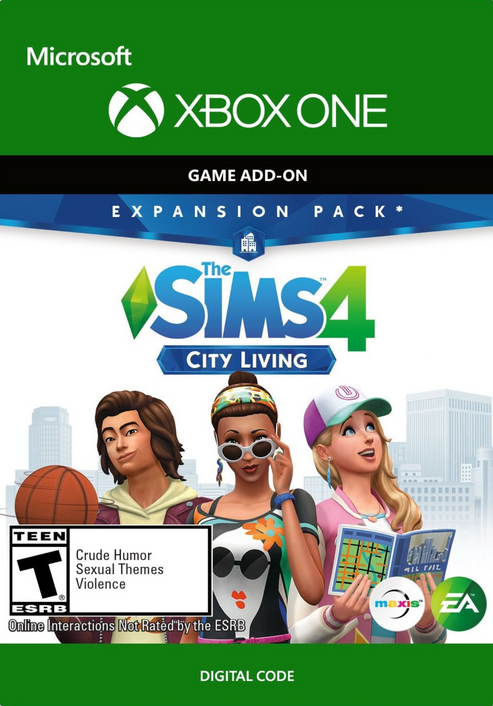 The Sims 4 City Living Expansion Pack Xbox One