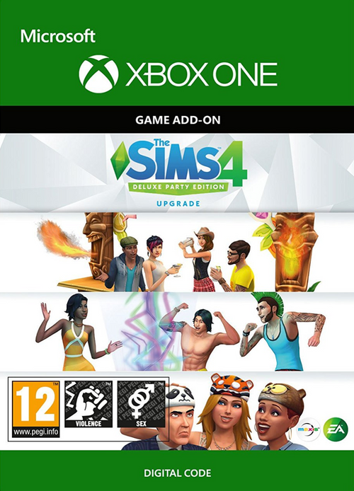 The Sims 4 - Deluxe Party Upgrade Xbox One