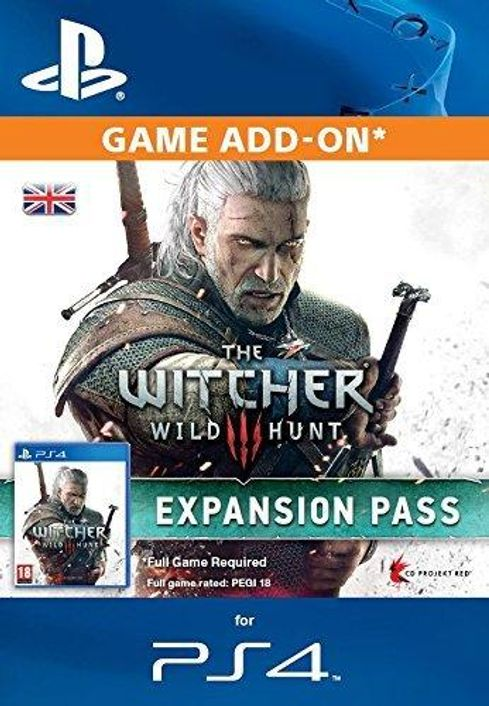 The Witcher 3: Wild Hunt Expansion Pass PS4 - Digital Code