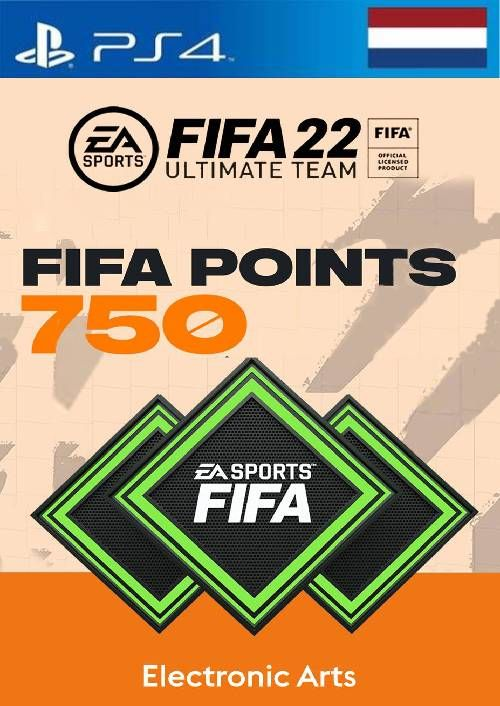 FIFA 22 Ultimate Team 750 Points Pack  PS4/PS5 (Netherlands)