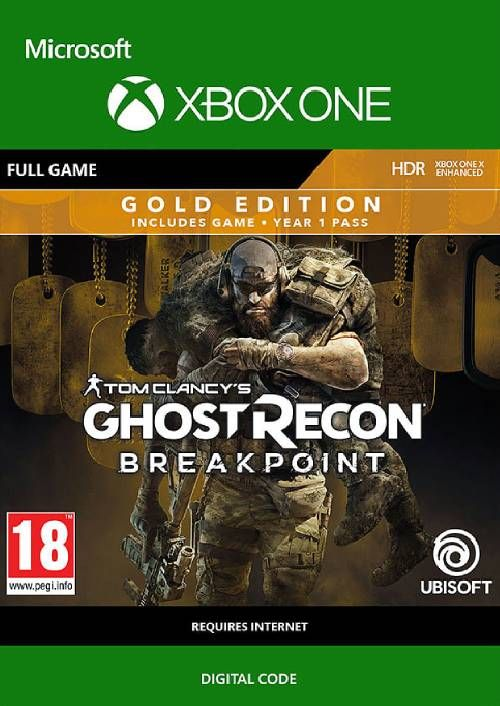 Tom Clancy's Ghost Recon Breakpoint: Gold Edition Xbox One