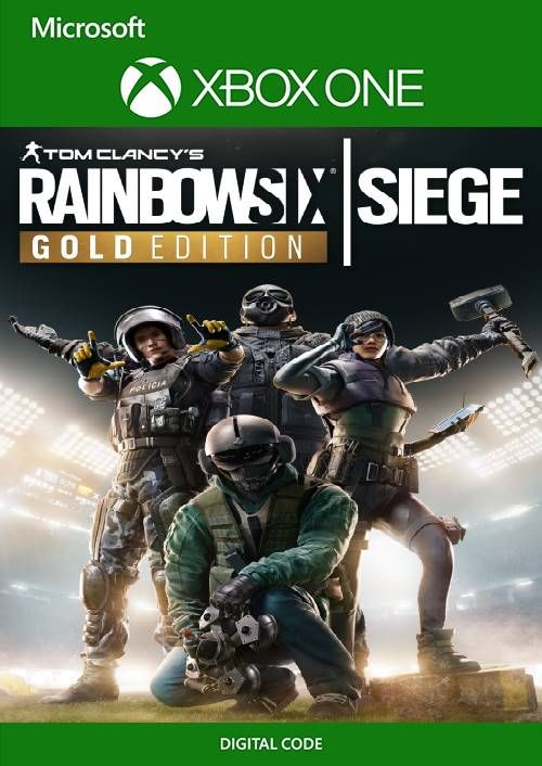 Tom Clancy's Rainbow Six Siege - Gold Edition Xbox One (UK)