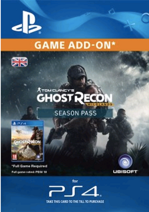 Tom Clancys Ghost Recon Wildlands Season Pass PS4