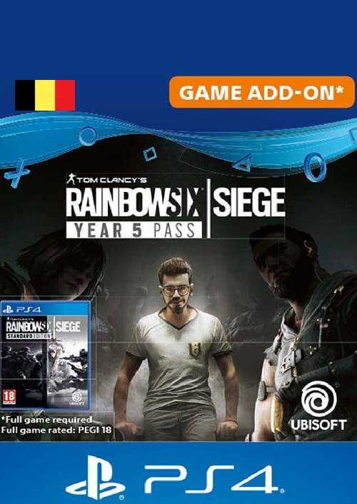 Tom Clancy's Rainbow Six Siege - Year 5 Pass PS4 (Belgium)