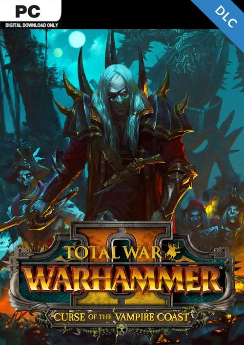 Total War Warhammer II 2 PC - Curse of the Vampire Coast DLC